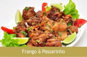Frango à Passarinho