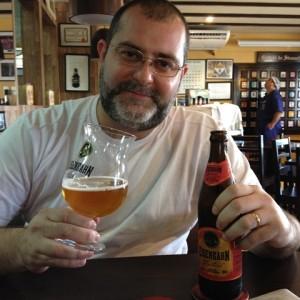 Claudio Oliveira, Somellier de Cervejas; Caiubier